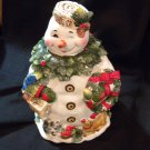 g Snowman Woman Cookie Jar NIB Better Home & Garden for Home Interies