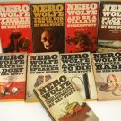 9 Rex Stout Nero Wolfe Mysteries Vintage Paperbacks