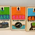 3 John Dickson Carr Mysteries Mad Hatter Blind Barber & Case of the Constant