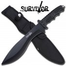 "15"" Hunting & Combat Knife w/ Sheath by Survivor"