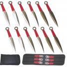 "6.25"" Throwing Knife Set w/ Sheath - 12 Piece"