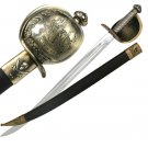 28&quot; Detailed Pirate Sword w/ Scabbard