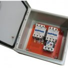 Elimia Reversing Magnetic Motor Starter 63 - 80A 240V IP65 Sealed Steel Enclosure