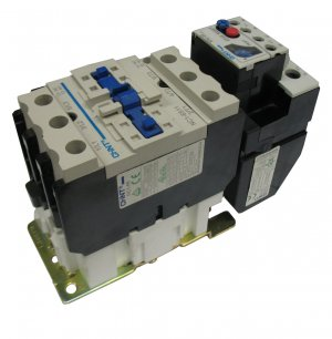 Telemecanique motor starter replacement lc1d lr2d1 40 hp for Manual motor starter with overload protection