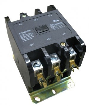 New Definite Purpose AC Contactor 3-Pole 40A 10 HP 240V HVAC