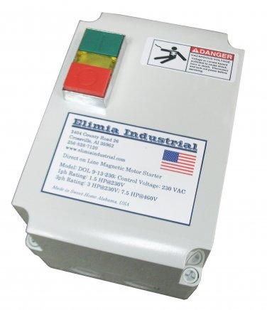 Elimia DOL 23-32-230LC Magnetic Latch Motor Starter 5 HP 1 PH Nema 4X