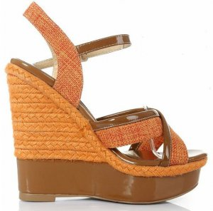 Lady brown high platform high heels
