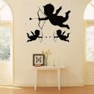 Three Cupids vinyl wall decals