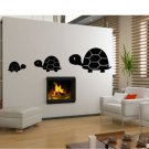 Three Turtles vinyl wall decal