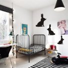 3 Rabbits viny wall decal