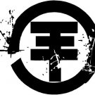 Tokio Hotel Band Logo bumpersticker viny decal