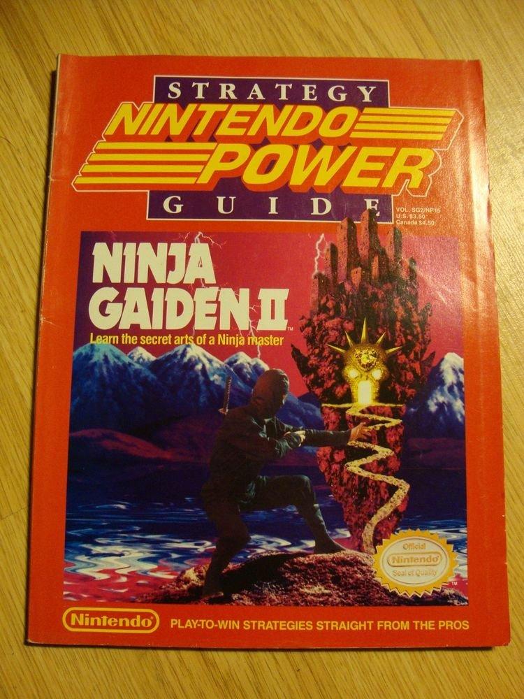 Nintendo Power Ninja Gaiden II 2 Strategy Guide