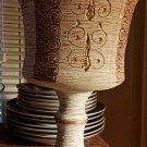 Vintage Italian Fratelli Sgraffito Chalice Goblet Pottery Vase