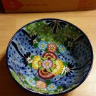 Talavera by Castillo Mexican Redware Decorative Bowl