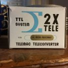 Vintage Telemac Converter for Nikon/Nikkormat by Sigma Japan