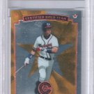 1997 Chipper Jones Pinnacle Certified GOLD Certified Team #4 of 20