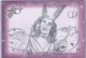 2006 The Wizard of Oz Sketch Art Card Chris Henderson Breygent
