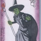 2006 The Wizard of Oz Sketch Art Card  Wicked Witch Joshua Ross Breygent