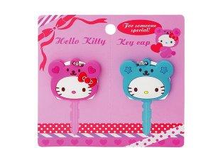 Hello Kitty Heart Bear Key Cap Set