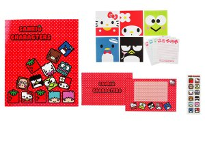 Hello Kitty Sanrio Friends Letter Set - Cube