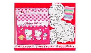 Hello Kitty Piano Letter Set