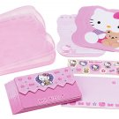 Hello Kitty Pink Letter Set in Case