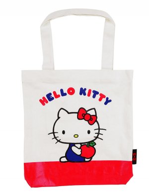 Hello Kitty Canvas Tote: 50th Anniversary