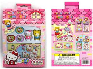 Hello Kitty Mascot Stamper Kit: Tippy
