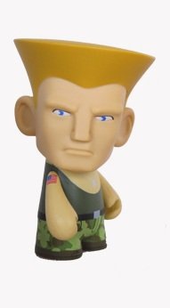 Kidrobot Capcom Street Fighter Series - Guile (Green)