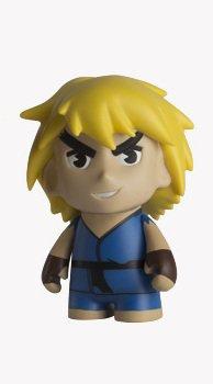 Kidrobot Capcom Street Fighter Series - Ken (Blue)