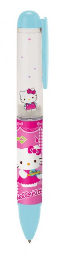 Hello Kitty Float Ballpoint Pen - 2012 - Blue