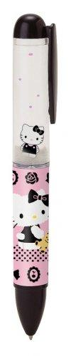Hello Kitty Float Ballpoint Pen - 2012 - Black