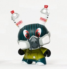 Kidrobot Dunny 2012 Series - Vandal Dunny by MAD