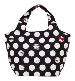 Hello Kitty Dots Stuffed Tote Bag - Small