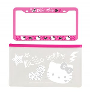 Hello Kitty Pink License Plate Frame