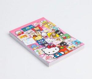 Sanrio Friends Characters Memo Pad