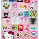 Sanrio Friends Characters Magnet Sheet