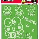 Keroppi Flocky Iron-On Sticker