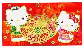 Hello Kitty Lucky Chinese Long Red Envelopes - #5