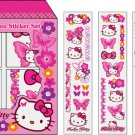 Hello Kitty Butterfly Temporary Tattoo Sticker Set