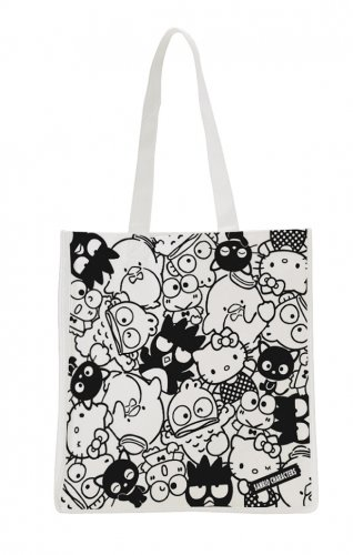 Sanrio Character Reusable Shopping Bag - Flat