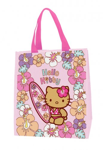 Hello Kitty Reusable Tote Bag - Suntan