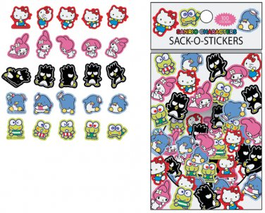 Sanrio Hello Kitty Assorted Mix Sack-O-Stickers