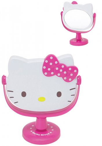 Hello Kitty Stand Mirror - Lovely