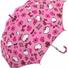 Sanrio Hello Kitty Flower Kids Size Umbrella