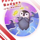 Penguin Badges - Halfpon