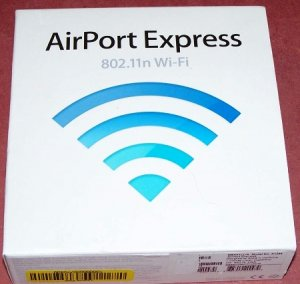 Apple Airport Express Wi-Fi Station (MB321LL/A)