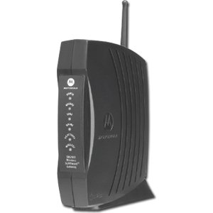 Motorola SURFboard SBG900 DOCSIS 2.0 Wireless Cable ModemGateway (Black)
