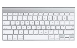 Apple Aluminum Wired Keyboard MB110LL/A