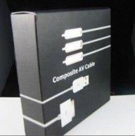 Apple Composite AV Cable MB129LL